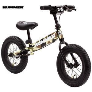 子供用自転車 HUMMER TRAINEE BIKE (カモフラージュグリーン) ハマー トレーニー バイク 幼児用自転車 キックバイク|ad-cycle