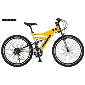 マウンテンバイク HUMMER DH2618-E (イエロー) ハマー DH 2618 E MOUNTAIN BIKE|ad-cycle