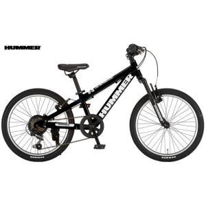子供用自転車 HUMMER Jr.ATB206-SV (マットブラック) ハマー Jr ATB 206 SV マウンテンバイク MOUNTAIN BIKE ジュニア|ad-cycle