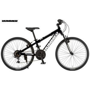 子供用自転車 HUMMER Jr.ATB2418-SV (マットブラック) ハマー Jr ATB 2418 SV マウンテンバイク MOUNTAIN BIKE ジュニア ad-cycle