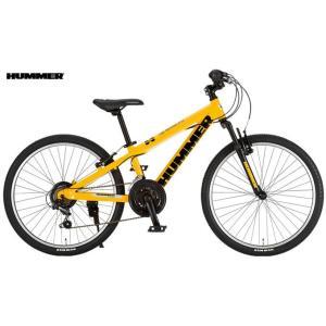 子供用自転車 HUMMER Jr.ATB2418-SV (イエロー) ハマー Jr ATB 2418 SV マウンテンバイク MOUNTAIN BIKE ジュニア|ad-cycle