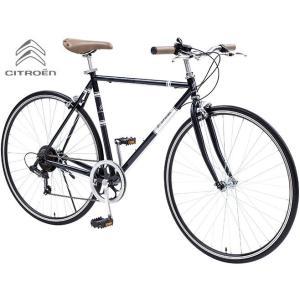 クロスバイク CITROEN TR7006 (ナイトブラック) シトロエン TR 7006 CROSS BIKE|ad-cycle