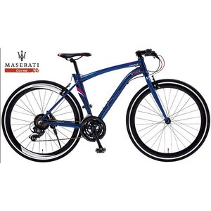 クロスバイク MASERATI AL-CRB7021 (マセラティブルー) マセラティ AL CRB 7021|ad-cycle