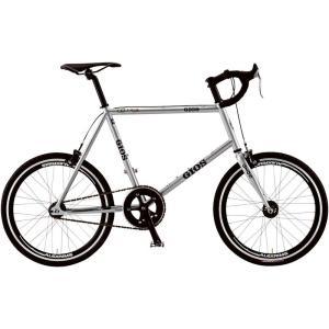 ミニベロ ジオス フェルーカ ピスタ (シルバー) 2018 GIOS FELUCA PISTA 小径車 ピストバイク 送料無料|ad-cycle