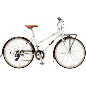 送料無料 クロスバイク ジオス リーベ (ホワイト) 2018 GIOS LIEBE シティサイクル|ad-cycle
