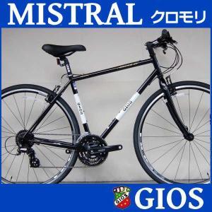 クロスバイク ジオス ミストラル クロモリ (ブラック) 2018 GIOS MISTRAL Cr-MO|ad-cycle