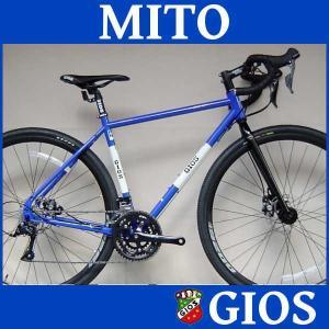 グラベル ロードバイク ジオス ミト (ジオスブルー) 2018 GIOS MITO シクロクロス 送料無料|ad-cycle