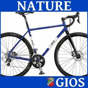グラベル ロードバイク ジオス ナチュール (ジオスブルー) 2018 GIOS NATURE シクロクロス 送料無料|ad-cycle