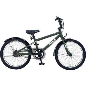 子供用自転車 JEEP JE-20MX (オリーブ) ジープ JE 20 MX キッズバイク|ad-cycle