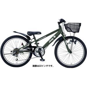子供用自転車 JEEP JE-24S (オリーブ) ジープ JE 24 S CTB|ad-cycle