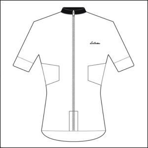 LINTAMAN CYCLING WEAR リンタマン・サイクリングウェア / ADAPT SUMMER JERSEY  ホワイト  Lサイズ ad-cycle