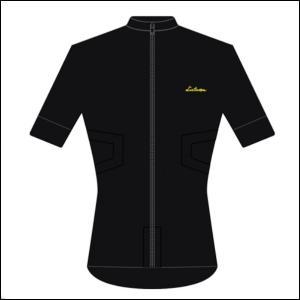 LINTAMAN CYCLING WEAR リンタマン・サイクリングウェア /ADAPT STANDARDJERSEY ブラック  Lサイズ ad-cycle