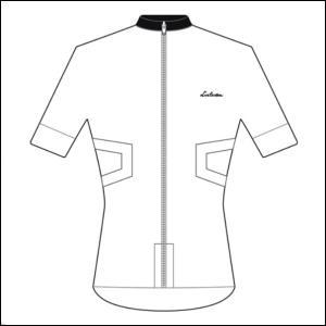 LINTAMAN CYCLING WEAR リンタマン・サイクリングウェア /ADAPT STANDARDJERSEY ホワイト  Sサイズ ad-cycle