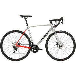 グラベル ロードバイク MASI CXR COMP (シルバー/エレクトリックレッド) 2019 マジィ シーエックスアール コンプ シクロクロス アドベンチャーバイク|ad-cycle