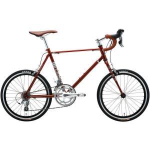 ミニベロ MASI MINI VELO DUE DROP (サスパリラブラウン) 2019 マジィ ミニベロ デュエ ドロップ 小径自転車|ad-cycle