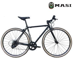 クロスバイク MASI CAFFE RACER PRIMA (ブラック) 2020 マジィ カフェ レーサー プリマ|ad-cycle