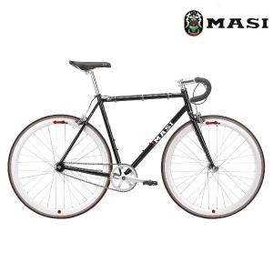 ロードバイク MASI FIXED UNO DROP (グロスブラック) 2020 マジィ フィクスド ウノ ドロップ|ad-cycle