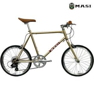 ミニベロ MASI MINI VELO PRIMA (シャンパンゴールド) 2020 マジィ ミニベロ プリマ 小径自転車|ad-cycle