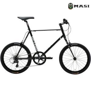 ミニベロ MASI MINI VELO UNO RISER (ブラック) 2020 マジィ ミニベロ ウノ ライザー 小径自転車|ad-cycle