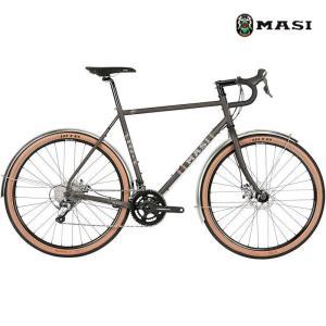 ロードバイク MASI SPECIALE RANDONNEUR (ピューター) 2020 マジィ スぺシャーレ ランドナー アドベンチャーバイク|ad-cycle