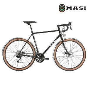 ロードバイク MASI SPECIALE RANDONNEUR ELITE (グロスブラック) 2020 マジィ スぺシャーレ ランドナー エリート アドベンチャーバイク|ad-cycle