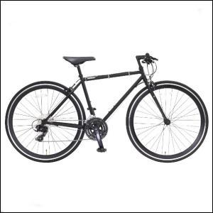 OSSO (オッソ)R330-CR-460-MBK クロスバイク ストリートバイク (マットブラック) |460mm|ad-cycle