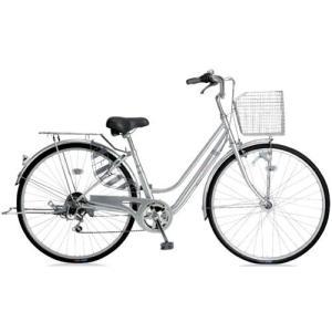 シティサイクル  サギサカ パンクしない軽快276DL (シルバー) 2141 SAGISAKA パンクしない 軽快 276 DL|ad-cycle