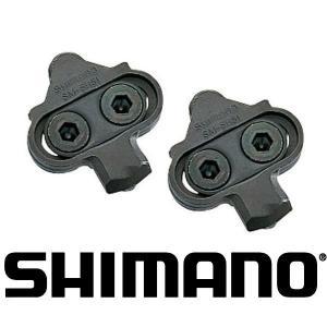 SHIMANO/シマノ SM-SH51 ナットプレート付 ペダルクリートセット(シングルリリースペア)/Y42498200|ad-cycle