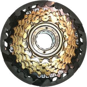 シマノ ターニー MF-TZ500-7-CP ボスフリー スプロケット 14-28T プロテクター付 (X1645) SHIMANO Tourney MF TZ 500 7 CP マルチプルホイール AMFTZ5007428CP|ad-cycle