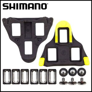 SHIMANO SM-SH11 黄色 クリートセット(6度セルフアライ二ングモード/左右ペア) ビンディング ペダル /Y42U98010/|ad-cycle