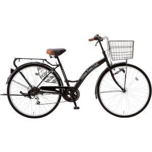シティサイクル  シオノ オーシャンカラクラブ 26 外装6段 オートライト 26HV-K-6-HD (フラットブラック) 2018 SHIONO OCEAN KARA CLUB ad-cycle