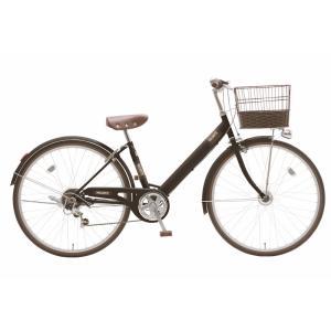 子供用自転車 シオノ マルロット 26 外装6段 オートライト (フラットブラック) SHIONO MALLROTTE 266 シティサイクル 塩野自転車 ad-cycle