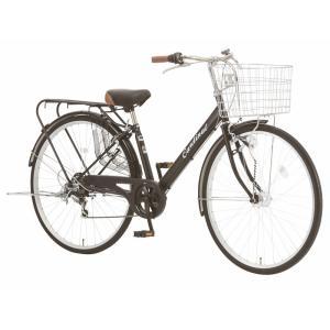 シティサイクル  シオノ カーディナル 27 外装6段 オートライト 27VS-S-6-HD (フラットブラック) 2018 SHIONO CARDINAL|ad-cycle