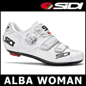 SIDI ALBA WOMAN (ホワイト/ホワイト) シディー アルバ ウーマン サイクル ビンディング シューズ レディース|ad-cycle