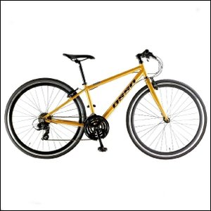 OSSO (オッソ)V330-AL アルミ クロスバイク (オレンジ) 380mm|ad-cycle