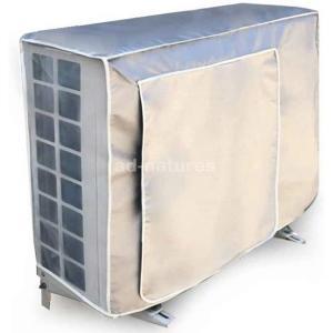 エアコンカバー 室外機カバー 防水 防塵 日焼け止め 保護カバー室外機用 撥水加工 アルミ 取り外し...