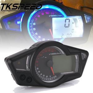 オートバイダイヤルLCDオートバイ走行距離計スピードメータースピードメーター