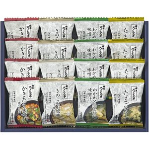 【遅れて】敬老の日 プレゼント 内祝い お返し ギフト スープ 送料無料 ろくさん亭  道場六三郎 スープL-16D 引越し adachinet-giftshop