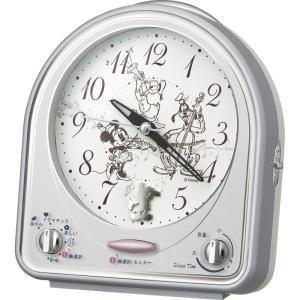内祝い お返し ギフト 置時計 D1sneyT1me ディズニー目覚まし時計 FD464S 送料無料|adachinet-giftshop