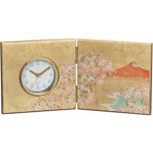 内祝い お返し ギフト 置時計 屏風時計 16838 送料無料|adachinet-giftshop