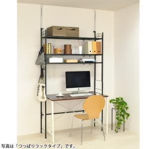 無駄なスペースを作らない頑丈つっぱりラック 3段 adachiseisakusyo