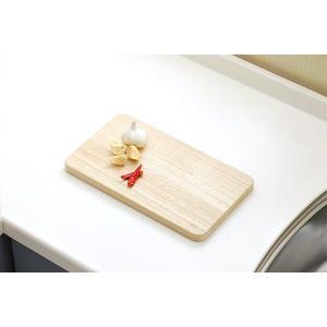 桐子モダン 桐のまな板 ミニ 木 約35×20×2cm おしゃれ adachiseisakusyo