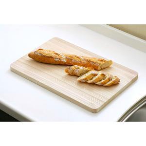 まな板 桐 中 おしゃれ 木製 カッティングボード 桐子モダン 約45×29.5×2cm 軽いまな板  adachiseisakusyo