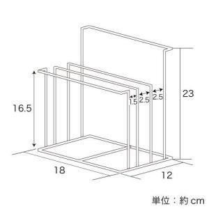 ステンレス製ふきん&まな板スタンド|adachiseisakusyo|03