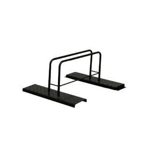 シマ鋼板自転車スタンド(1台用)|adachiseisakusyo