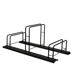 シマ鋼板自転車スタンド(3台用)|adachiseisakusyo