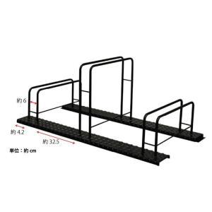 シマ鋼板自転車スタンド(3台用)|adachiseisakusyo|02