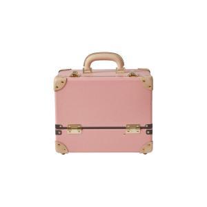 タイムボイジャー コレクションバッグL ピンク コスメボックス メイクボックス シューケア用品 靴磨き 収納|adachishiki