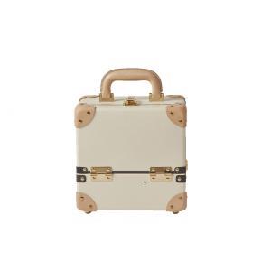 タイムボイジャー コレクションバッグS サンドベージュ コスメボックス メイクボックス 収納ボックス|adachishiki