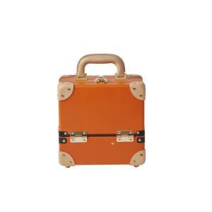 タイムボイジャー コレクションバッグS ビターオレンジ コスメボックス メイクボックス 収納ボックス|adachishiki